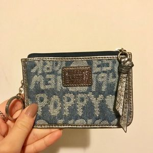 Coach Poppy coin purse